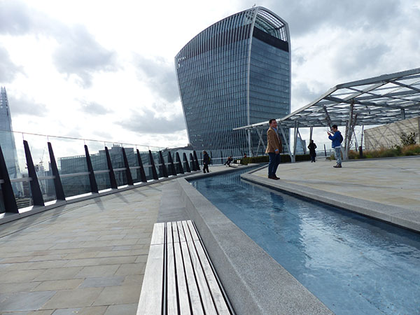 London's Newest Roof Garden @ 120 Fenchurch Street ...