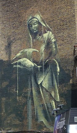 Street Art Faith47 Cernesto Rolling People Edwin And