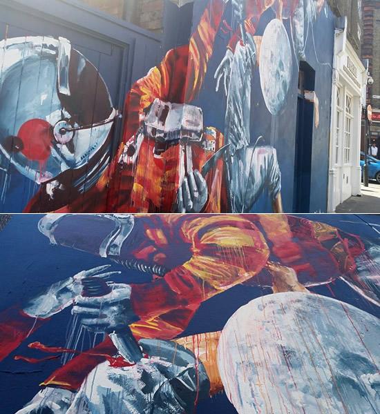astronaut mural - photo #37