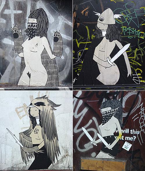 Street Art Kid Acne S Warrior Women Jenikya S Blog