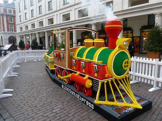 Lego Santa Express in Covent Garden - Jenikya's Blog
