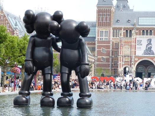 Joan Miró Sculptures in Amsterdam - Jenikya\'s Blog