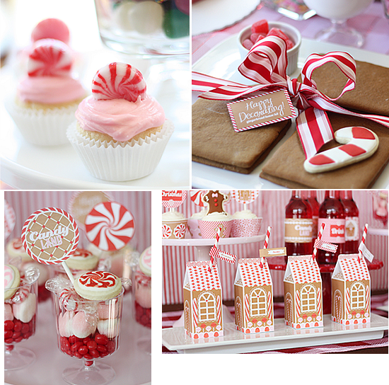 Candy Cane Party Decorations Brilliant Peppermint Inspiration  Jenikya's Blog Design Inspiration