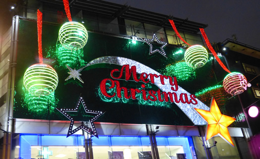 St. Christopheru0027s Place is a small area of shopping just north from Oxford  Street. This yearu0027s lights are large